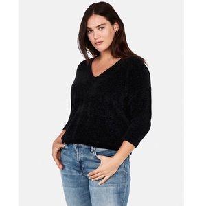 Express Velvet Chenille Sweater